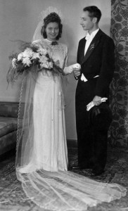 1948 Wedding Elsbeth Paul