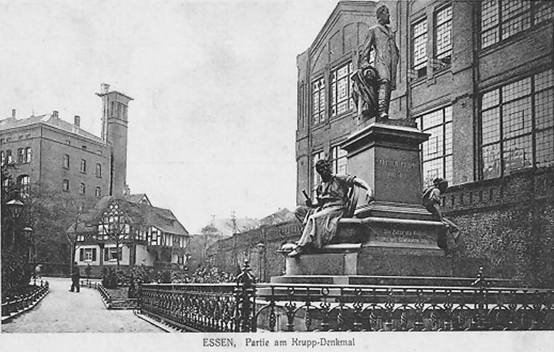 Essen_Gussstahlfabrik_Krupp-Denkmal_um_1910