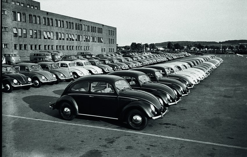 VW Factory Wolfsburg - Photo Credit: Bildarchiv Schroedter