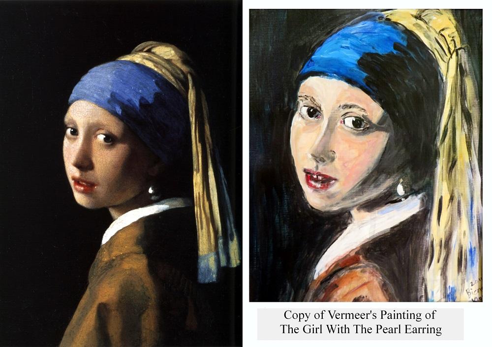 My copy and interpretation of the original painting.