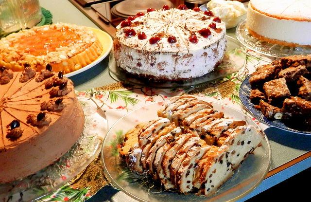 Festive baking